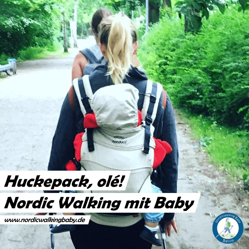Motiv 04 Teilnehmerinnen Nordic Walking - Baby - Fitness Sport - Berlin